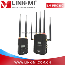 LINK-MI 1000ft Mini USB Wireless Cable TV Transmitter and Receiver Miracast SDI HDMI