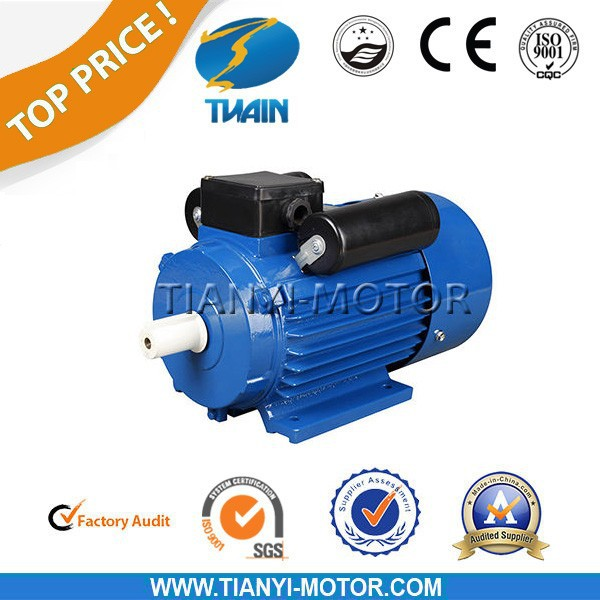 Yc single phase moteur electrique 220v to 3hp 3hp 220v single phase motor