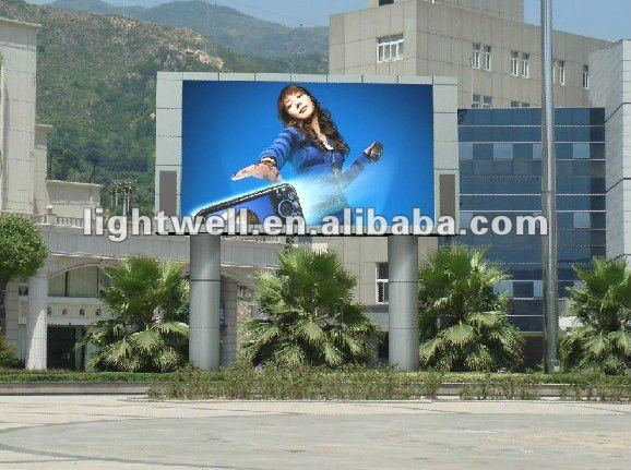 CL,meanwell PS stable video outdoor full color p12 led display screen