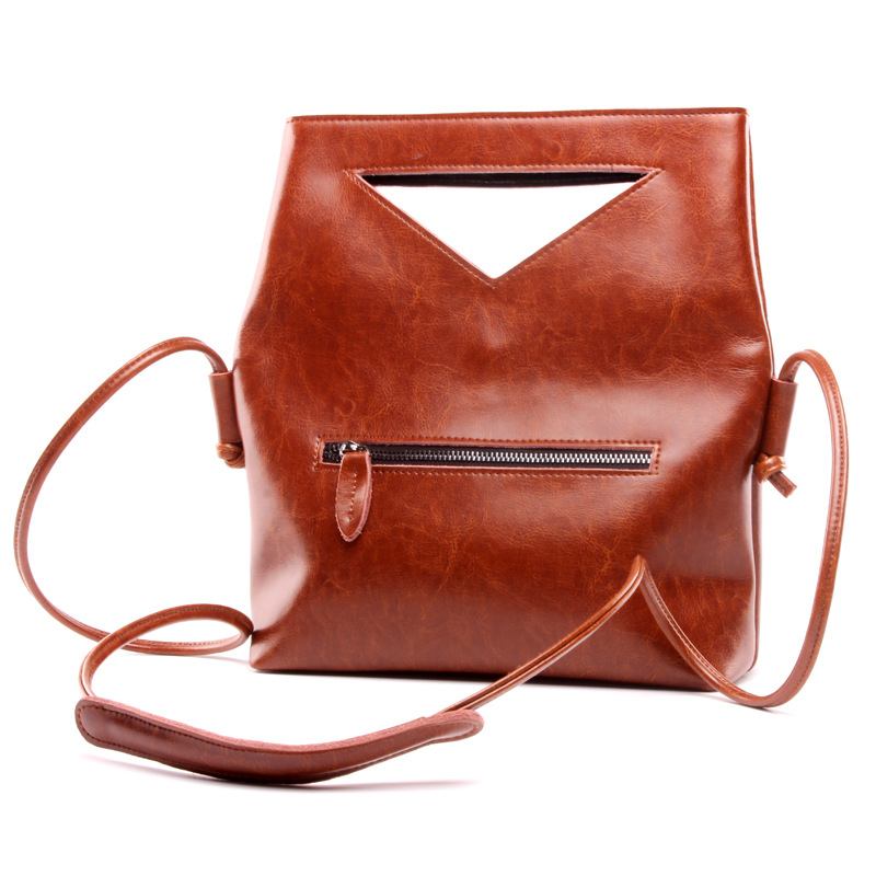 Top-Selling Organizer Hand-made Leather Travel Bags Barrel Bag for Lady