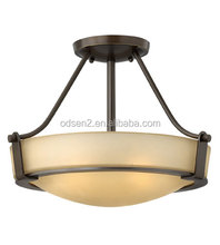 Old fashion rustic glass pendant lighting