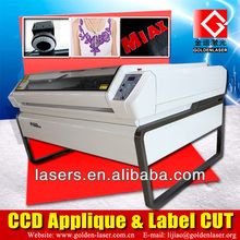 Auto Recognition Laser Applique and Label Cutting Machine CE