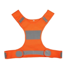 Hot sale High Visibility Reflective Vest Unisex Outdoor working <strong>Safety</strong> Vests drop shipping Night Running Sports Clothes