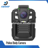 Flame retarded shell 140degree angle night vision mini body camera police