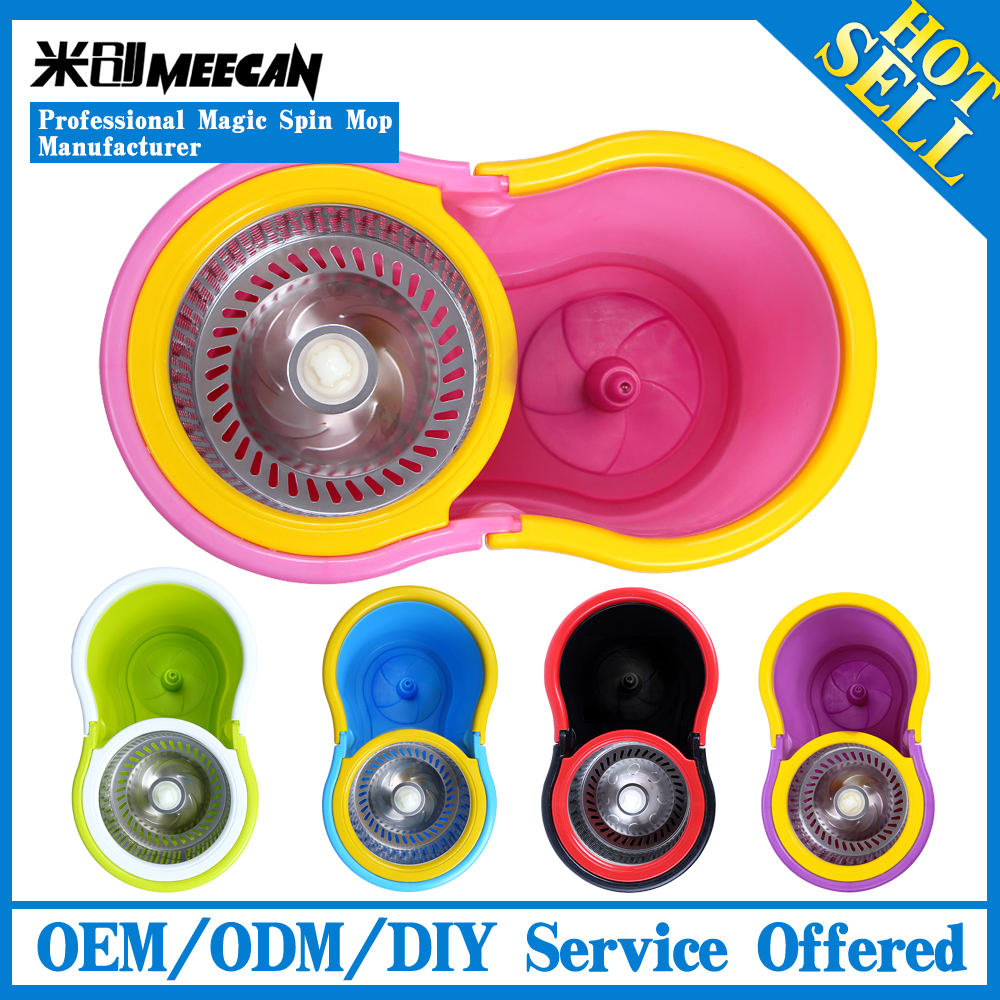 Car Cleaning New Products Microfiber Magic Mop, 360 Degree Hand Press Spin Mop OEM Manufacturer