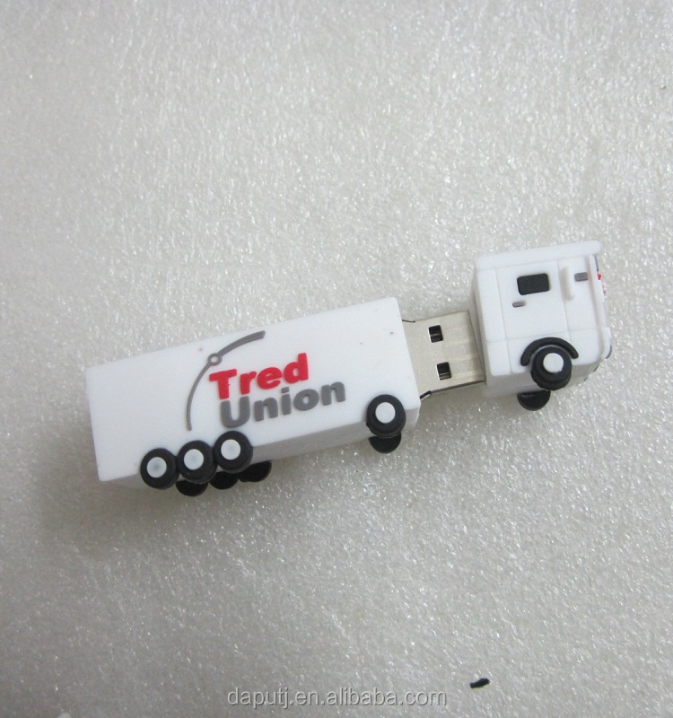truck shape usb flash drives with customized logo