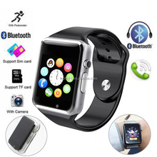 Watches For Android Samsung iPhone A1 GSM Touch Screen Bluetooth Mobile Watch Phones Smart Watch