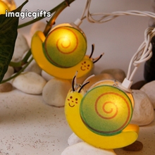 Wholesale Home Decoration Small Snail String Light