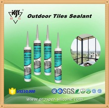 long Guarantee Fast Curing Anti-Mildew Silicone Based Outdoor Tile Sealant