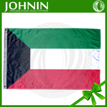 JOHNIN made National Day promotional printed Country flag of Kuwait