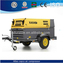 58KW XAS 137 Atlas Copco mobile Air Compressor