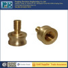 Custom brass cnc insert auto parts