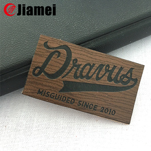leather logo embossing stamp