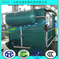 10~15m3/h Stainless Steel DAF or Europe Country Dissolved Air Floatation Equipment