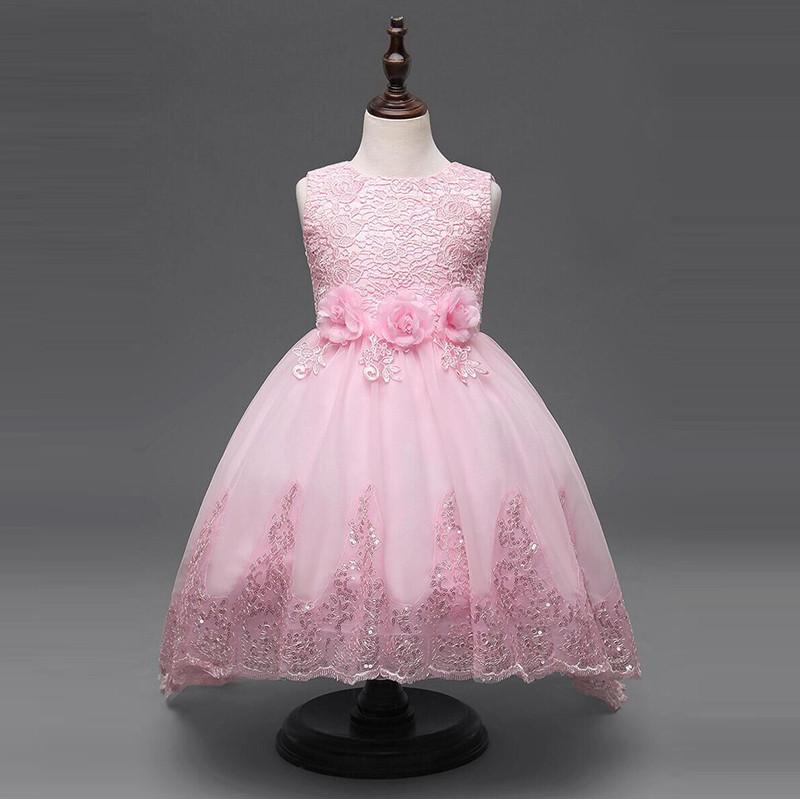 Flower Grils Dresses 2017 Fashion Girls New Designs Wedding Party ...