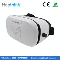 Best deal 3d vr case with optical lens 3D game and video private theater Helmet 3D VR