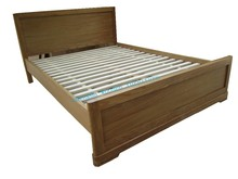 SD-601(9)cheap price ang solid wood oak bed 5'