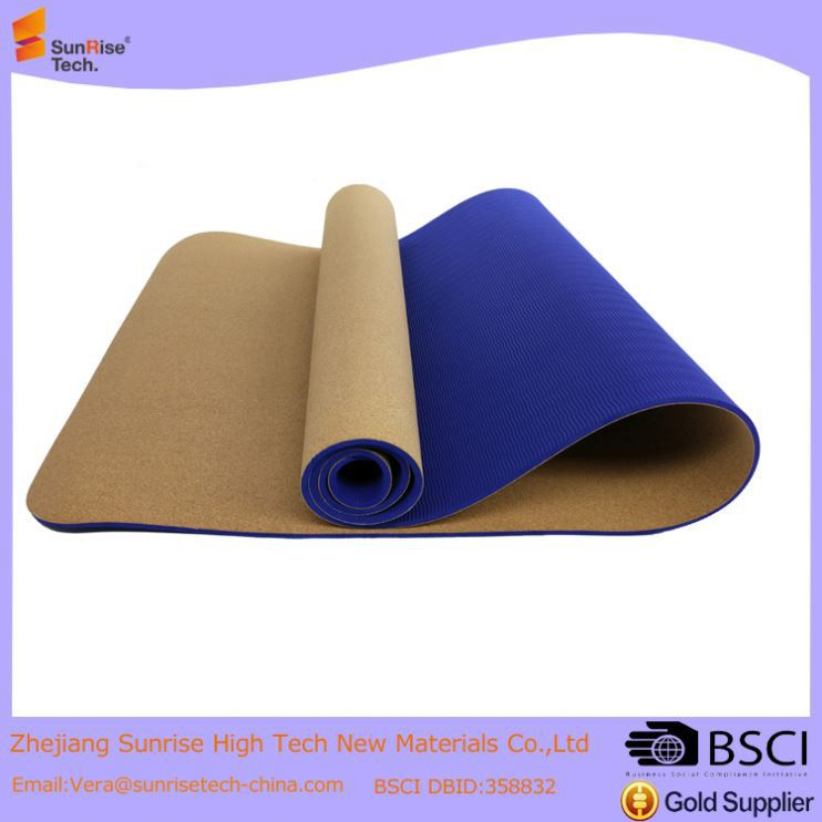 4MM Custom tpe Natural Rubber Yoga Mat