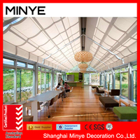 American style aluminum frame sun room for sale /high quality tempered glass sun room hot sale