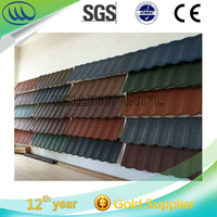 High quality stone coated metal colorful stone coated roofing tile/sheet Building material