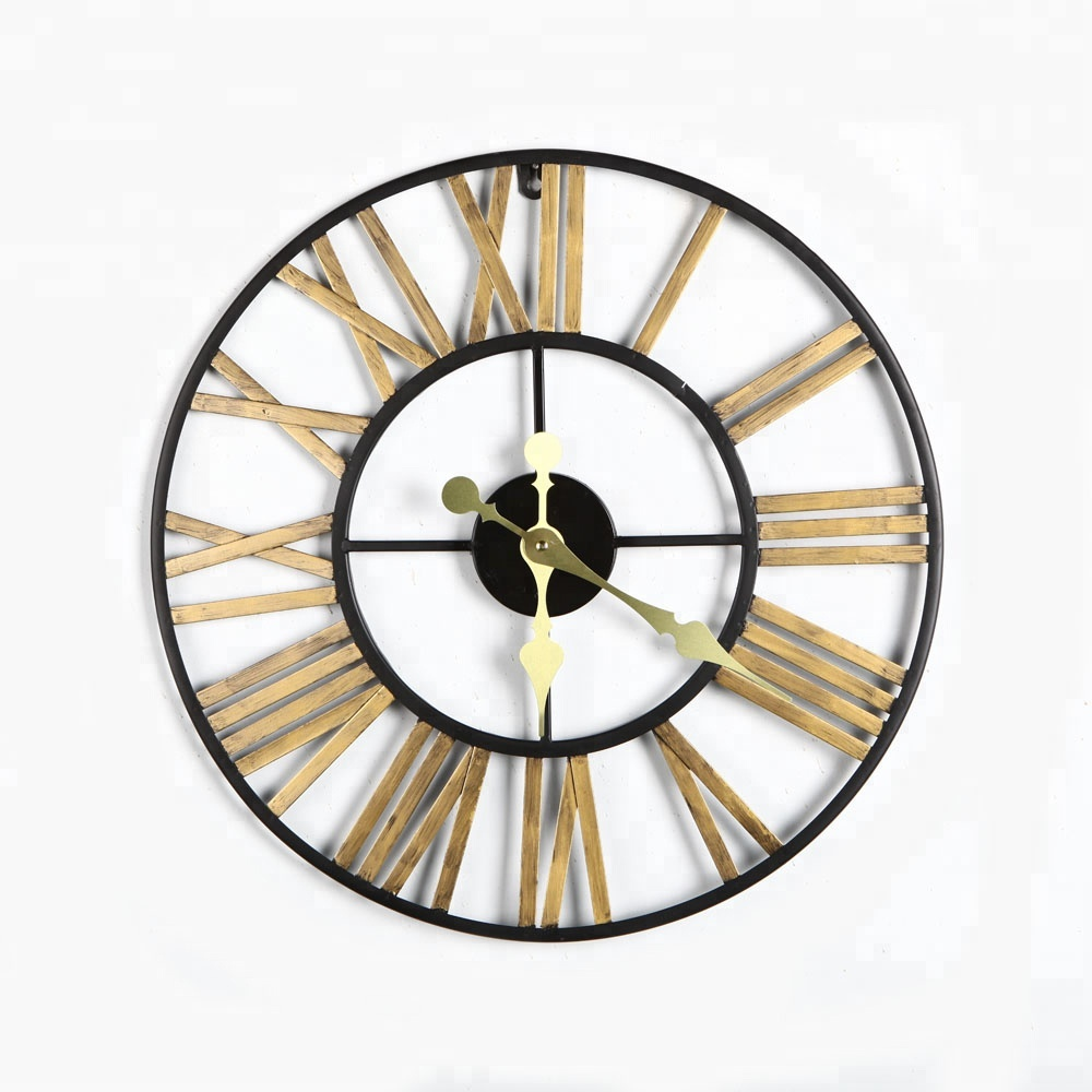 vintage metal wall clock high quality for home decoration (SDMCL928) antique wall clock