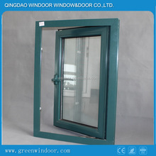 Aluminum Casement Window /Shopping European Standard Aluminium Casement Glass Veranda Window With Triple Glass