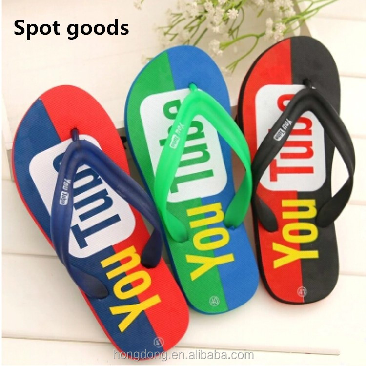 china cheap eva flip flops men, jinjiang factory stock wholesale flip flop youtobe custom slippers