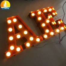 custom letter OEM or ODM 3d letter string lights floor price company introduction letter sample
