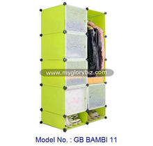 DIY Plastic Wardrobe Cabinet For Home Bedroom, plastic wardrobe cabinet, DIY furniture for home bedroom