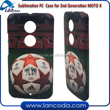 2014 custom design 3D sublimation case for motorola 2nd generation MOTO X 2 phone cover