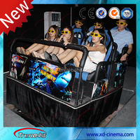 2016 hot sell 5D cinema six rider 5d cinema system manufucturer