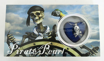 new natural gift ,wish pearl gift set with skeleton theme