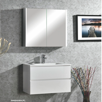 Assembly pack bathroom cabinet, Custom Made Modern Luxury Bathroom Furniture