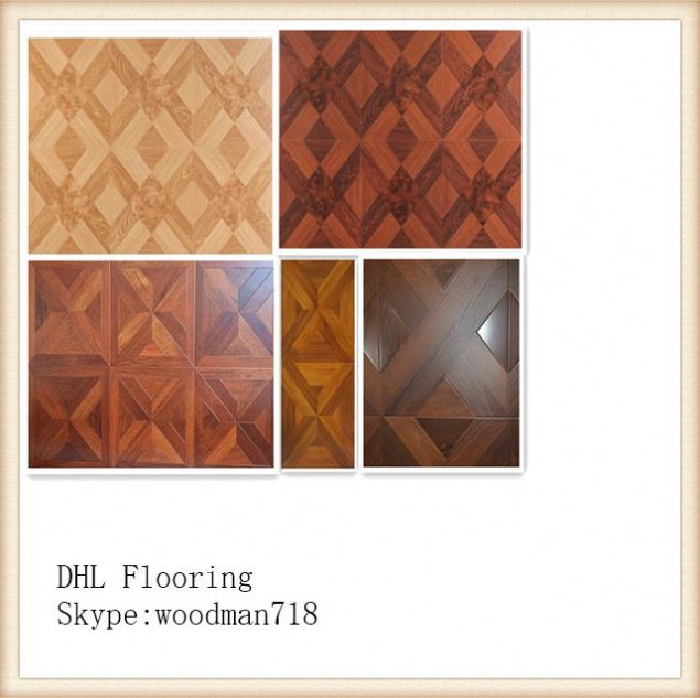 8mm Thickness AC3 Middle Embossed Cheap Stripe laminate Parquet Flooring 96025