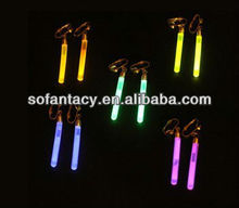 glow pendant,glow pendant ear ring with small glow stick