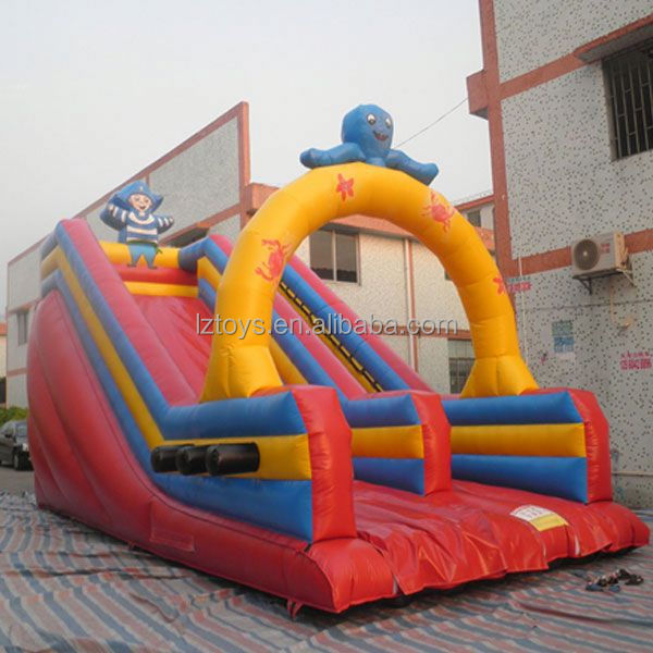 dinosaur inflatable slide , NO.2477 new style high quality christmas inflatable slide