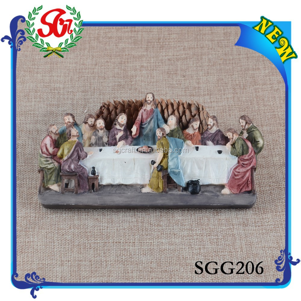 SGG206 Custom Promotional Resin Religious Statues, Religious Souvenirs