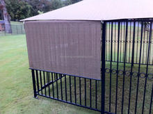 Galvanized or PVC Coated European Style Dog Kennel