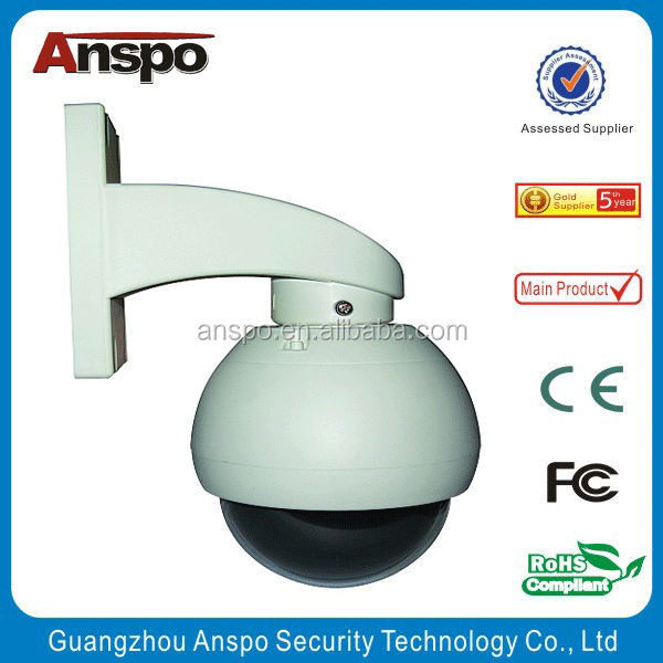 2015 The lowest price Indoor Four-inch intelligent Middle High Speed Dome Camera