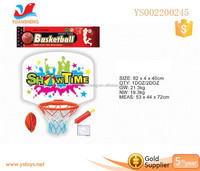 Promotional sport games plastic kid basketball hoop