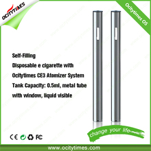 2016 Ocity times disposable oil atomizer/ cbd ecig disposable/ electronic cigarette kit disposable