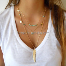 Fashion gold new model necklace chain wholesale C1493