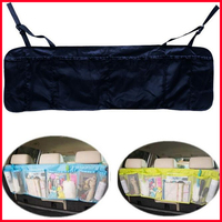 Free Shipping Multi-function SUV Car Auto Interior Backseat Trunk Cargo Tidy Net Removable Hanging Organizer