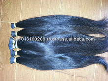 Two natural color virgin vietnam/cambodia hair extension, very long hair sale off for wholeseller