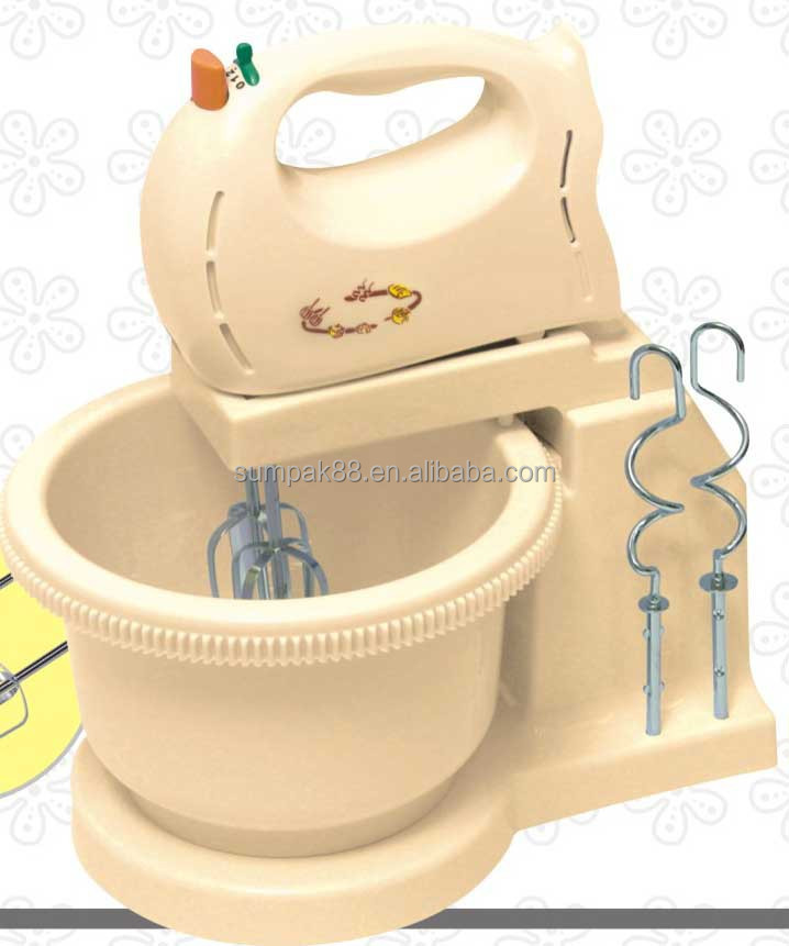 plastic egg mixer with bowl