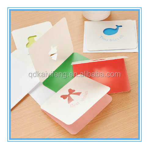 promotion message greeting card
