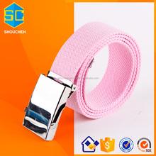 2017 Pink Environmental protection ladies fashion belts