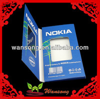 direct manufacturer cell phone paper box with window , custom paper box for NOKIA