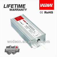 CE RoHS approved IP67 12V 8.5A 100W waterproof led power driver