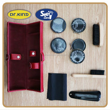High grade shoe care leather shoe shine kit